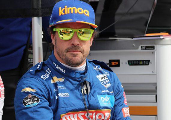 Фернандо Алонсо прокомментировал аварию в IndyCar