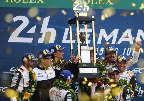 Экипаж Алонсо выиграл второй Ле-Ман подряд