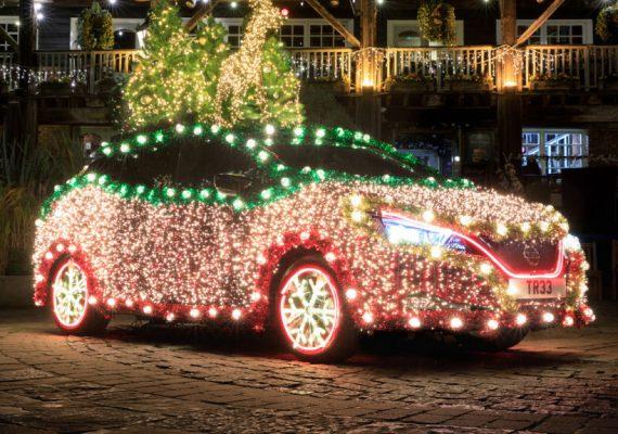 Дайджест дня: рождественский Nissan Tree, космический Astrovan II и другие события индустрии