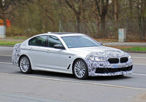 BMW пятой серии готовится к рестайлингу