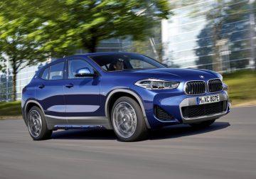 Кроссовер BMW X2: новый бампер и гибрид