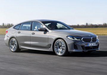 BMW шестой серии Gran Turismo: плановый рестайлинг