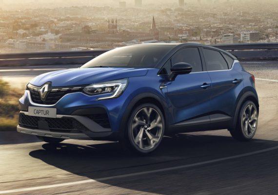 Европейский Renault Captur обзавелся версией RS Line